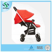 Poussette bébé en alliage d'aluminium réversible design neuf avec repose-pieds réglable (SH-B11)