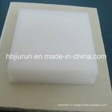 Feuille en plastique blanche pure de pp de fabrication de la Chine
