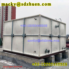 50m3 irrigation fiberglass assembled water storage tank with cheap price