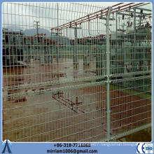 Cheap Netting Black Powder Coated Fence Double Loop Wire Fence