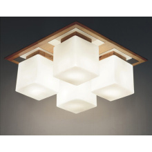 Modern Dining Room Decor Wood Pendant Light (N-015C-4)