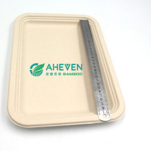 New Arrival Biodegradable Compartment Bagasse Dinner Plate
