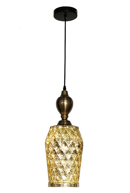 Gold Pendant Lamp Small Size