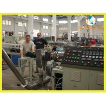 Ligne d'extrusion de granule composé de PVC avec le système de pesage automatique