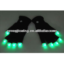 LED flash gloves for parties