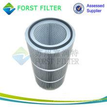 FORST Industrial Pleated Filter Material Compressed Aluminium Air Filter