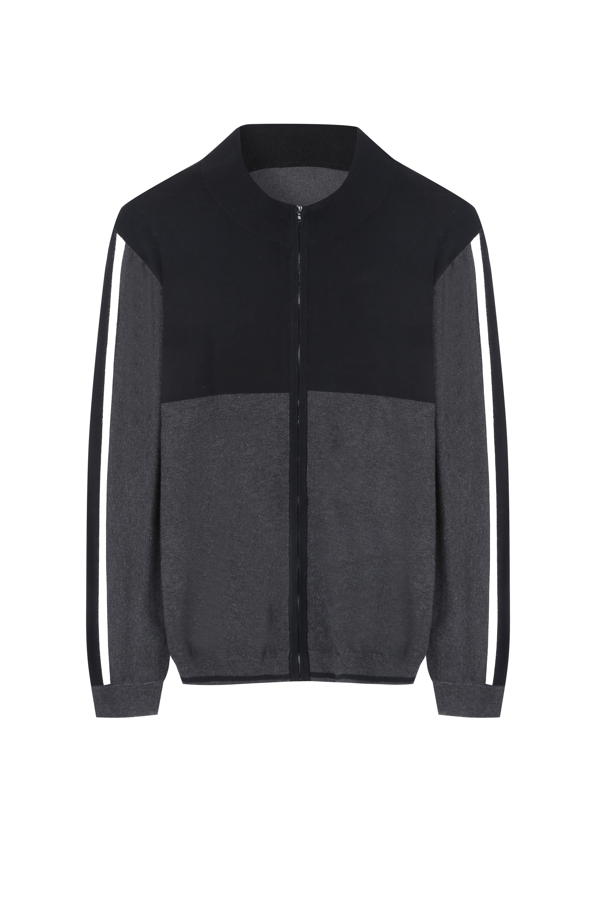 Men's Super Soft full Zip Knitted Cardigan in Sport Style