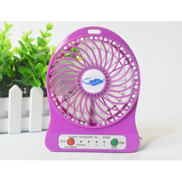 Heißer Sommer 5V beweglicher Mikro-USB-Mini-Ventilator-Hand-Batterie-nachladbarer Luft-Kühlventilator
