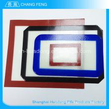 Esteira de bakeware silicone personalizado colorido calor resistente não pegajoso fábrica