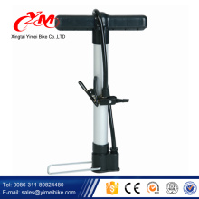 Small size bicycle air pump parts / mini hand operated bike pump in Philippines / bike inflator with gauge