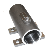 Steel Hydraulic Cylinders Body CNC Machined