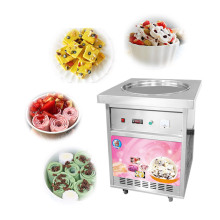 Fried Ice Cream Roll Machine For Mobile Food Van Truck Trailer