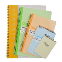 Cmyk Printed Professional Custom Spiral Notebook