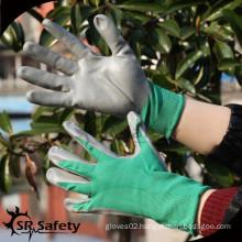 SRSAFETY green liner nitrile gloves/auto mending glove/nitrile glove manuafaturer