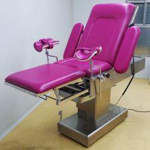 Hospital birthing and gynecological examination beds
