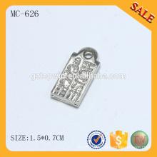 Высокое качество логотипа MC646 выгравированы пользовательских браслет прелести
