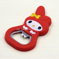 Promosi PVC Custom Shaped Bottle Openers With Magnet