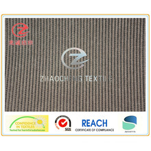 16W Black Yarn N/P Sofa Corduroy Fabric (ZCCF029)