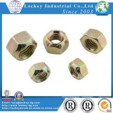 Type de couple prédominant Écrou hexagonal tout métal Écrou de verrouillage métallique
