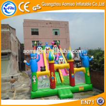Glissière gonflable commerciale à vendre, toboggan gonflable géant pour parc d'attraction
