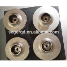 roue de pompe en acier inoxydable avec moulage de précision