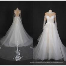 2017 Последний Кружева Тюль Свадебное Платье Свадебные Свадебное Платье