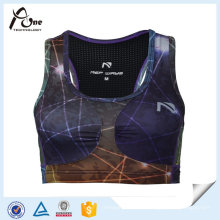 Schnell trocknende Sexy New Fashion Sublimation Printed Benutzerdefinierte Lauf BH