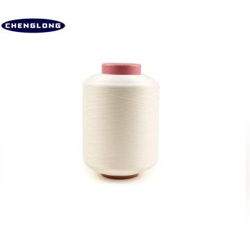 Polyester 70/36 tricoté spandex fil nu fil recouvert