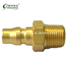 Japanese Type Male For Asia Market pipe fittings brass