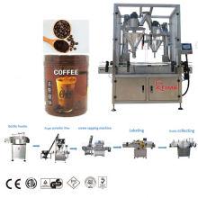 Фасовочно-упаковочная машина для зернового порошка в ПЭТ-бутылки