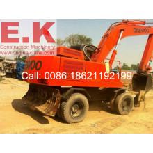 Segunda mano Used Corea Daewoo Excavadora de ruedas hidráulicas (HD200)