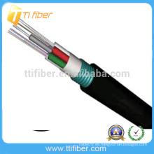 De buena calidad GYTS cable 6 cable blindado al aire libre de fibra óptica