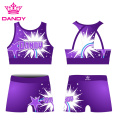 Dye Sublimation College Cheer Uniformen für das Training