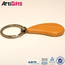 Porte-clés en bois blanc de style classique
