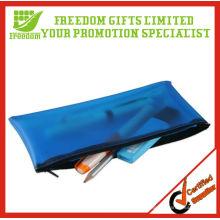 Advertising Top Quallity Logo Printed Cool PVC Pencil Bag
