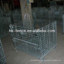 40''x48''x42 '' heißer eingetauchter galvanisierter Speicher-Draht-Behälter