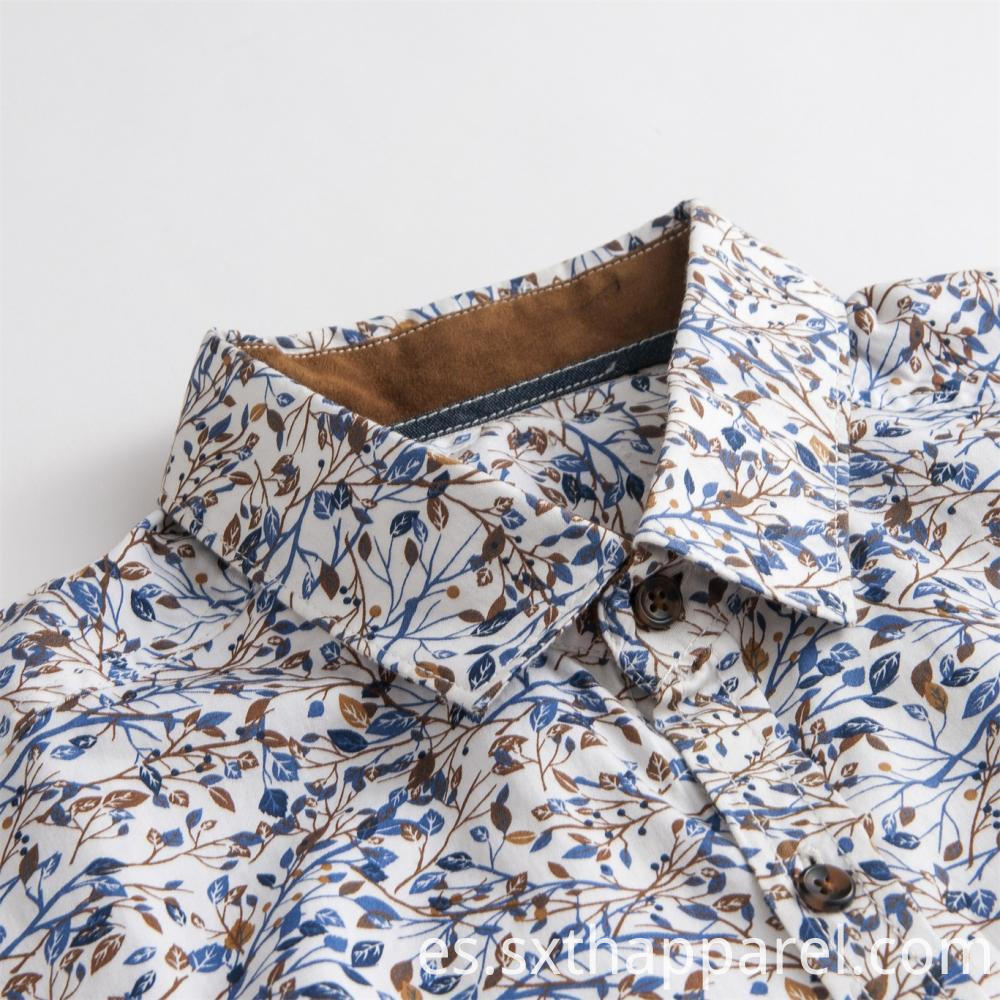 Men's Regular Fit Print Shirt