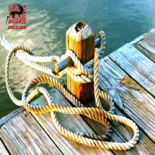 Cuerda plástica de nylon del amarre de la cuerda del poliéster de 12 hilos