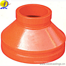 FM Approved Ductile Iron Grooved Concentric Reducer