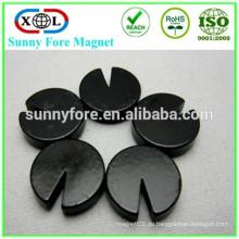 Runde schwarzem Epoxy-magnet