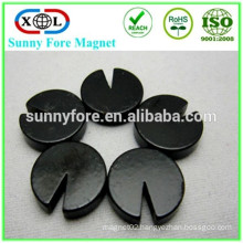 round black epoxy magnet