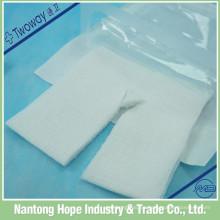 material quirúrgico estéril hisopo no tejido de drenaje con corte en Y