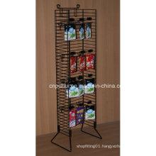 Floor Standing Metal Condiments Display Rack (PHY1063F)