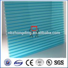 непрозрачные пластиковые полый лист поликарбоната для навеса