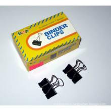 Pinces pour reliures noir 25mm (1004)
