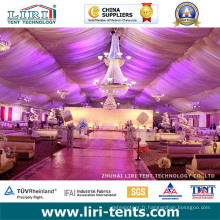Tente de mariage pour 500 personnes pour une soirée de luxe