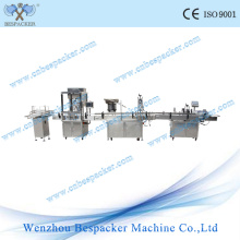 Automatic Filling Labeling and Jar Capping Machine