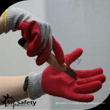 SRSAFETY красная латексная стойкая перчатка