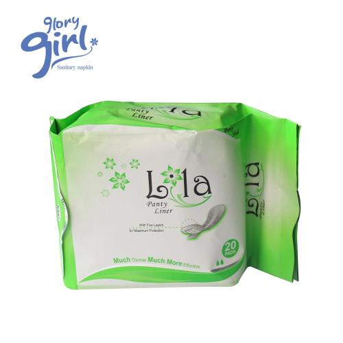 girls green strip anion sanitary pads