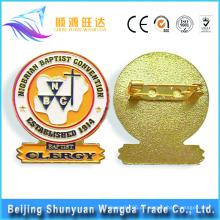 China-Abzeichen-Hersteller produzieren Metall-Pin-Abzeichen Custom Pin Abzeichen